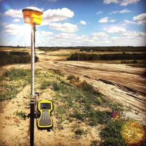 Trimble SPS985 with TSC3